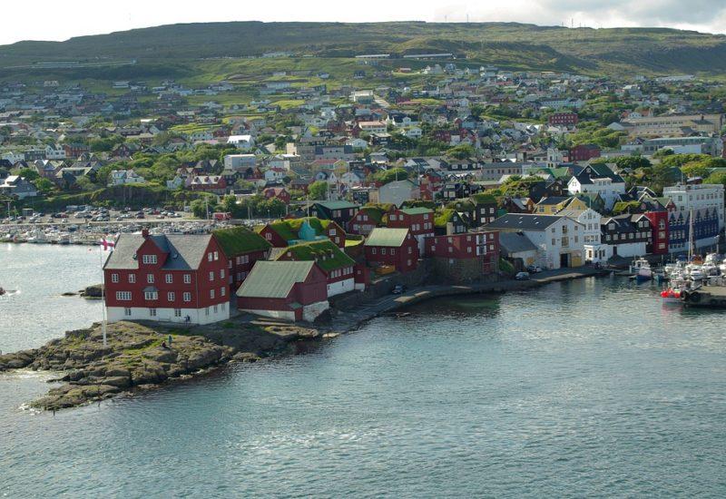 Thorshvan capitale isole Faroe
