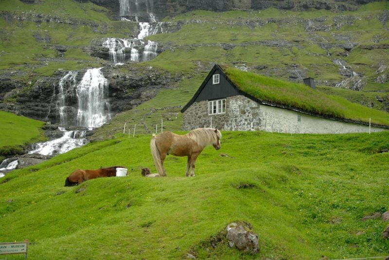 Cascata isole Faroe
