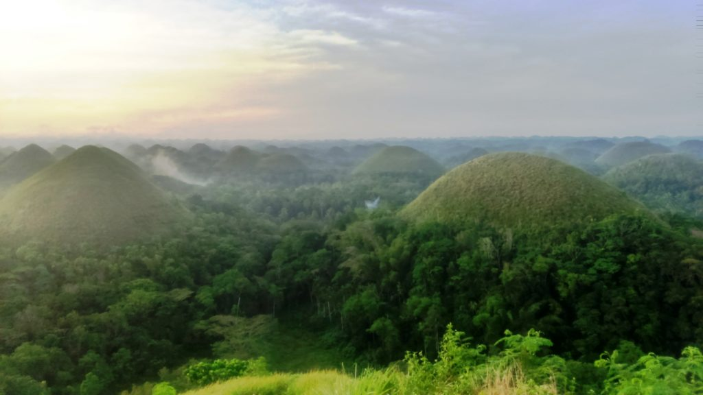 Chocolate Hills nelle Filippinev