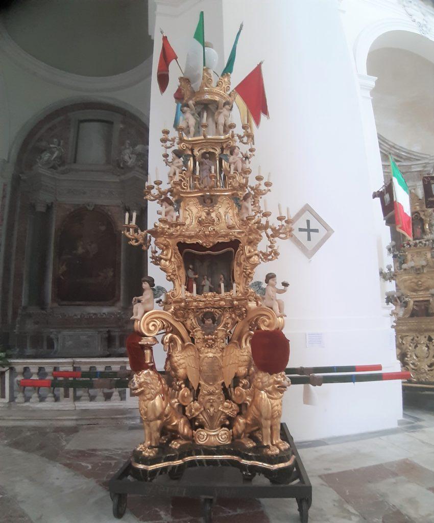 La candelora Sant' Agata patrona di Catania