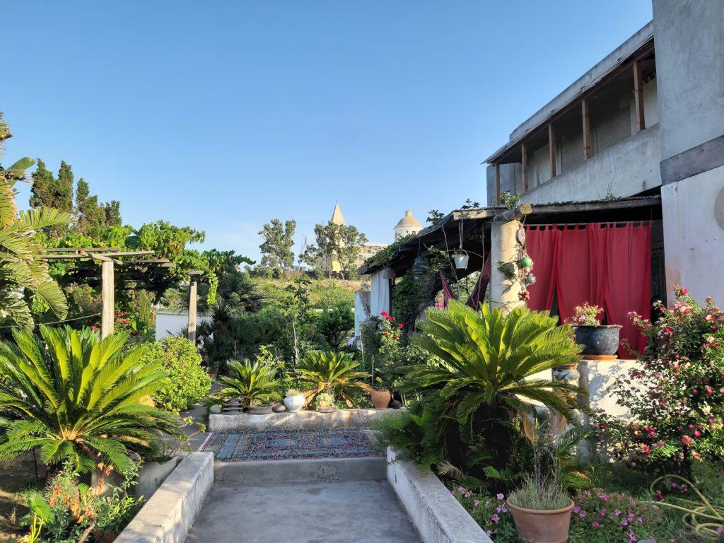 L'ingresso della casa di Salvatore Russo