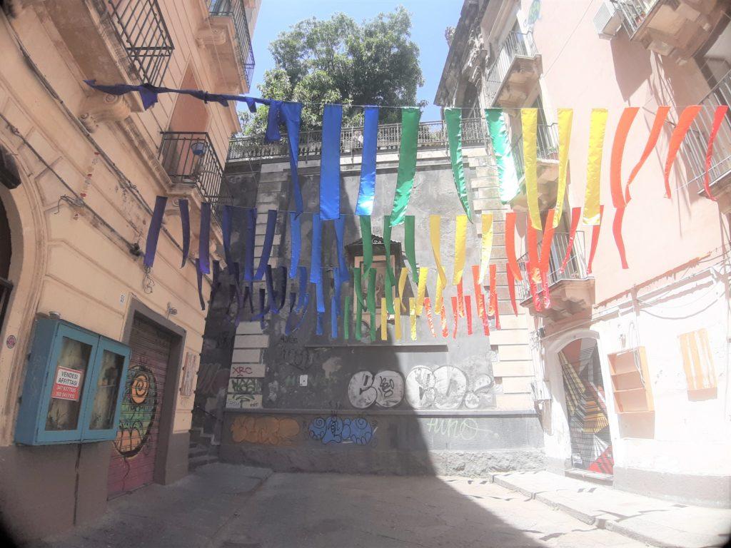Angolo di Via Penninello di CataniamANVia Pei