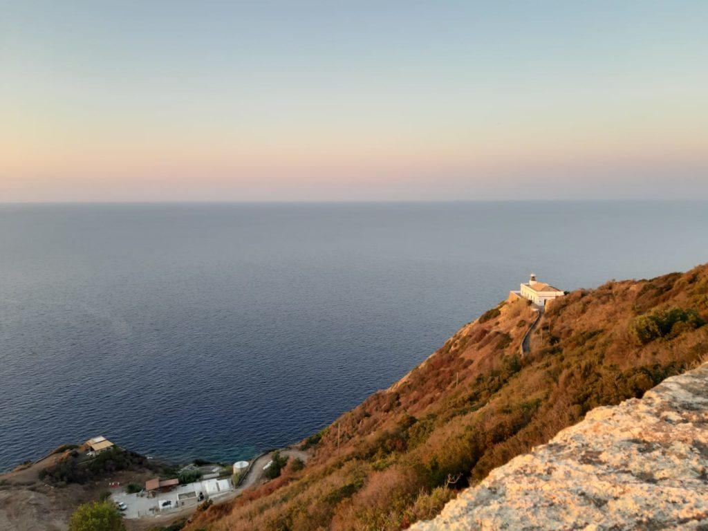 Vista dalla Rocca Falconiera di Ustica