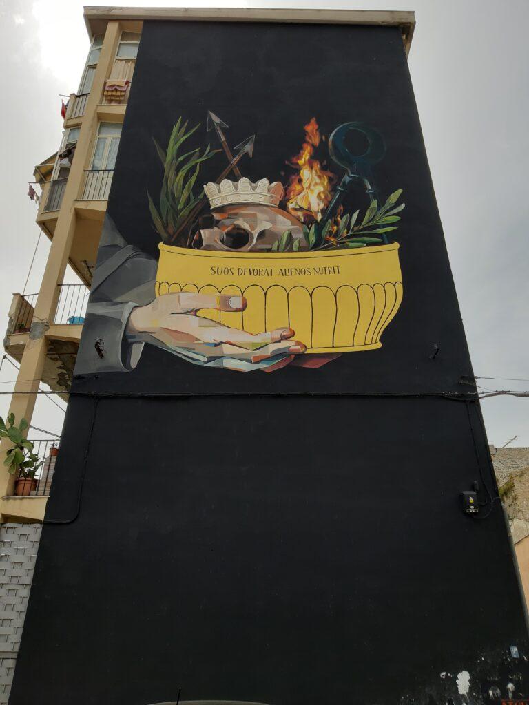 la street art nel quartiere della Kalsa a Palermoèpalermo-kals