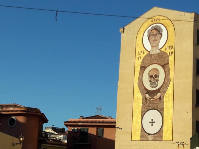 Murales di Santa Rosalia di Igor Palminteri