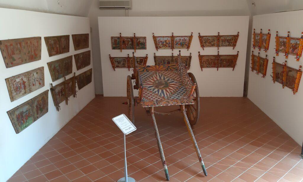 Carretto siciliano del Museo Guttuso a Bagheria