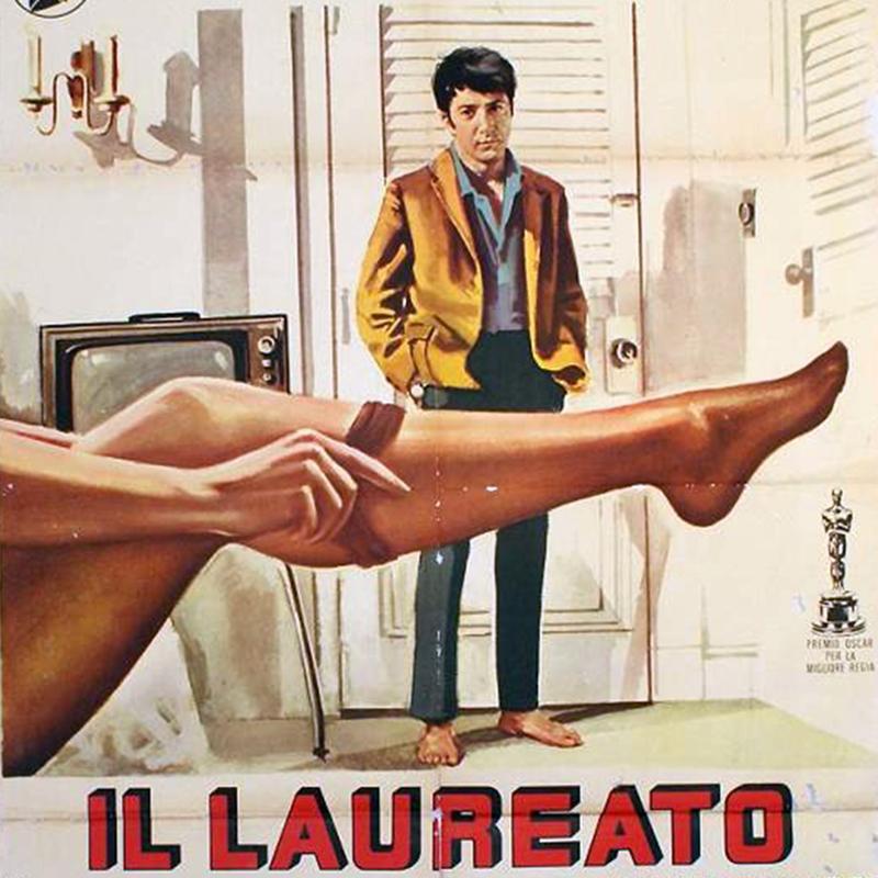 Locandina del film Il Laureato al Museo Guttuso di BagheriaL