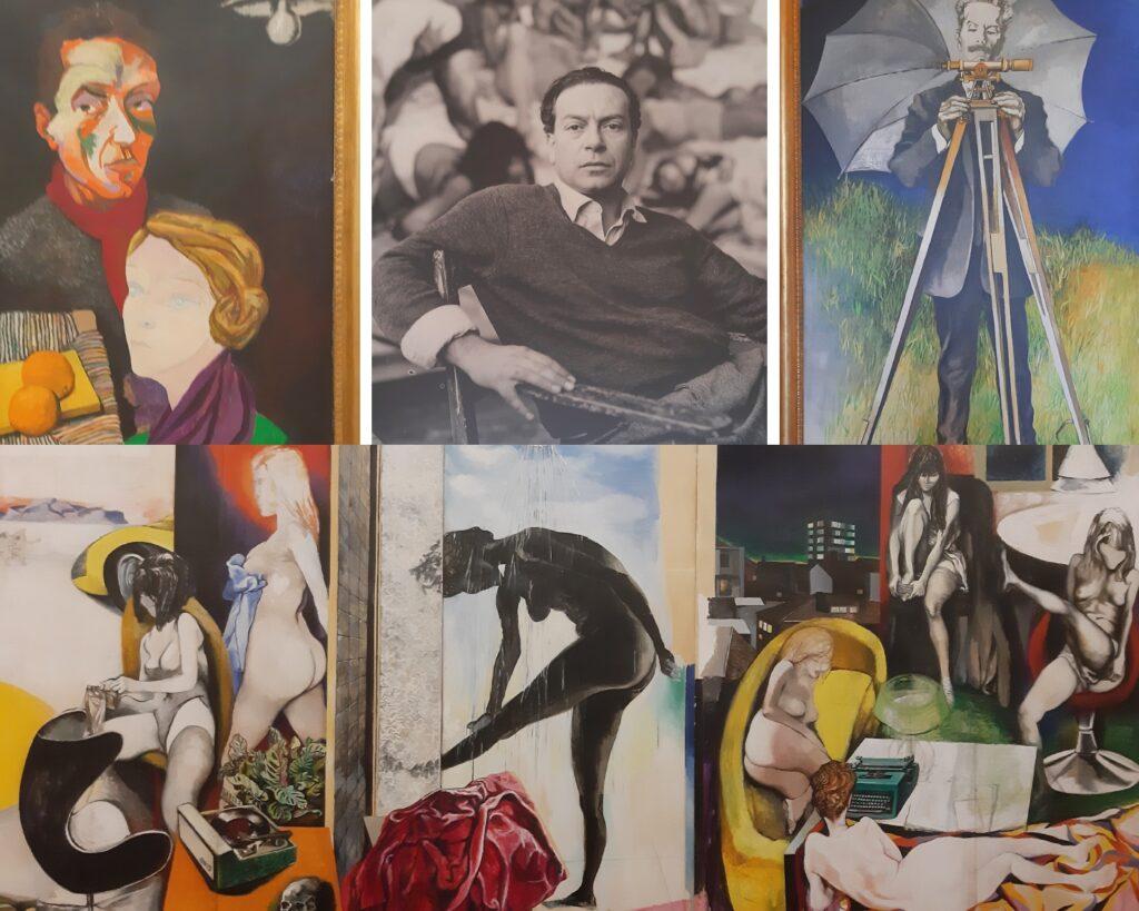 Dipinti dell'artista Renato Guttuso al Museo Guttuso di Bagheria