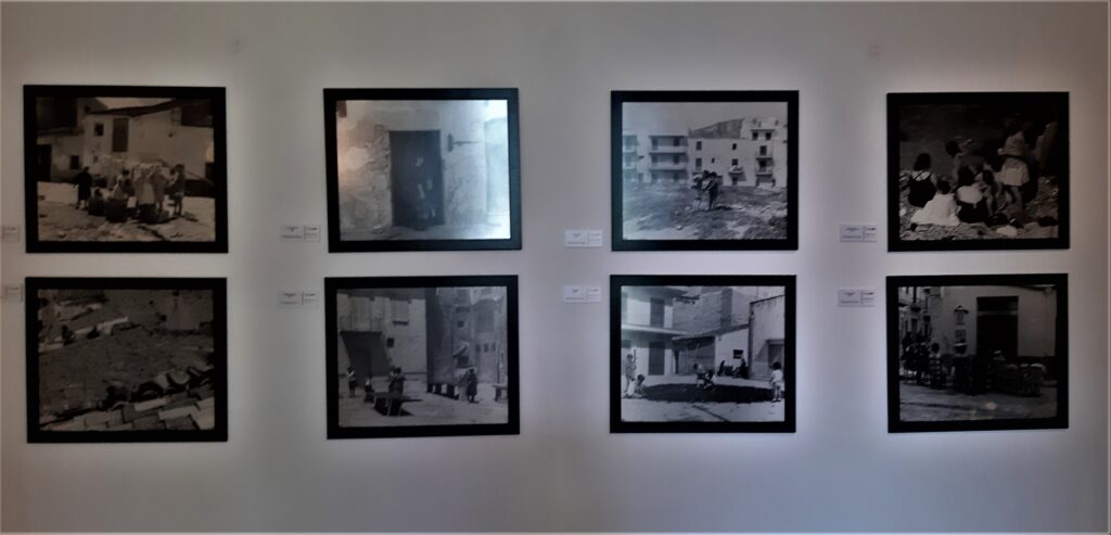 La sezione fotografia del Museo Guttuso di Bagheria