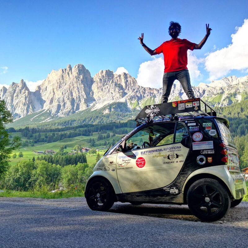 Viaggiare in Smart con Claudio