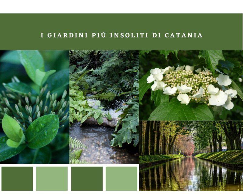 I giardini più insoliti di Catania