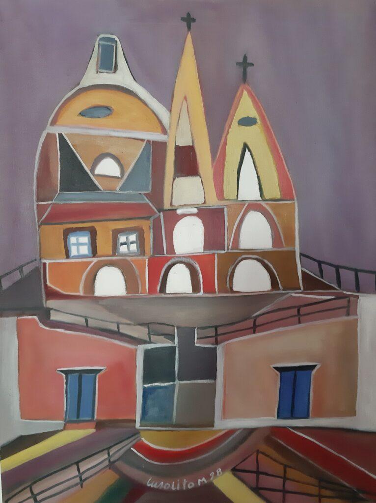 Quadro del pittore Mario Cusolito