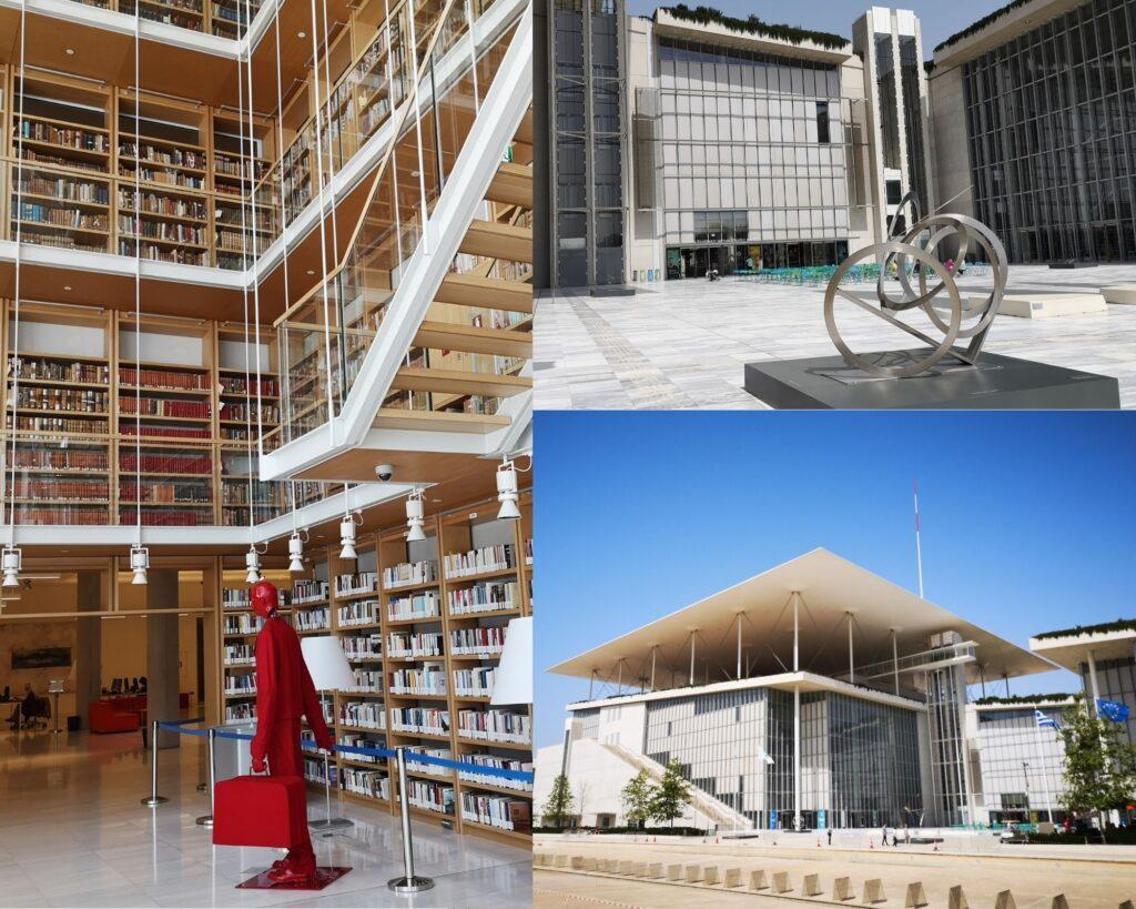 Esperienze da fare ad Atene, visitare la stavros niarchos foundation