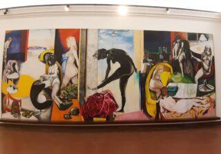 Il Museo Guttuso di Bahgeria ospita alcune opere dell'artista bagherese: Guttuso. Tra i suoi dipinti mi é piaciuto tantissimo
